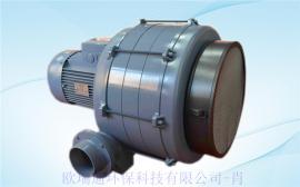 5.5KW 三相透浦式多段鼓风机