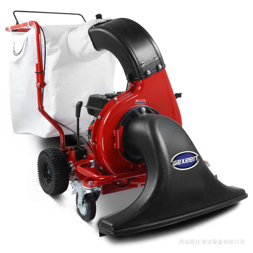吸树叶机生产厂家,强力大功率落叶清扫粉碎机器,捷恩品牌