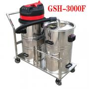 建筑工地用双桶吸尘器,工厂大量粉尘专用吸尘器,德克威诺吸尘器