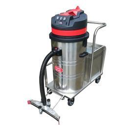工厂大面积用手推式吸尘器,物流仓库用手推式电动工业吸尘器