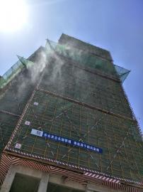 工地塔吊喷淋系统围挡除尘减霾喷淋设备工地降尘系统安装