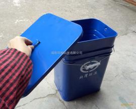 供应家用钢板垃圾桶 分配给农户的垃圾箱 多分类组合果皮桶