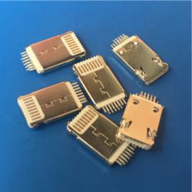 超薄白�z/�O果+安卓MICRO二合一公�^ 13P�A板平安公�^ �A板0.6