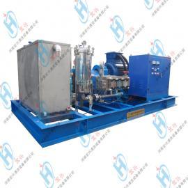 电机驱动电厂凝汽器防爆高压清洗机