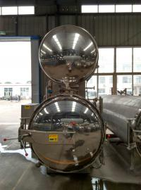 咸鸭蛋蒸煮锅价格|电加热高温杀菌锅生产厂家|卧式高温杀菌锅