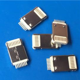 白�z/�O果5 16P�A板公�^ H=2.8MM iphone超薄充�公�^