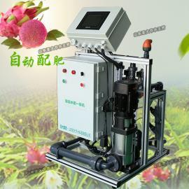 火龙果施肥机型号 果树水肥一体化安装示意图自动配肥