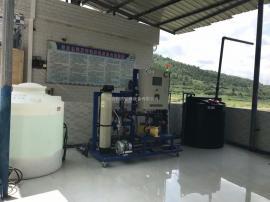 次氯酸钠消毒柜/电解盐农村自来水消毒设备