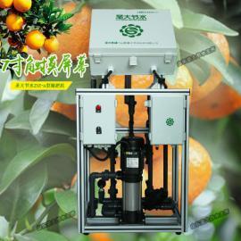 砂糖桔施肥注意事项 果园水肥一体施肥机操作好用的施肥机智能屏