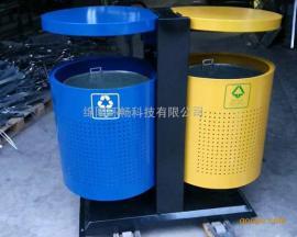 高速路政道路垃圾桶 收费站垃圾箱 激光镂空高品质垃圾箱