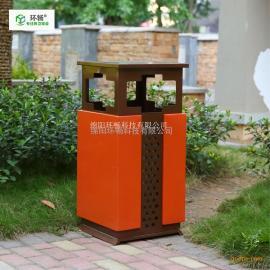 城市环卫垃圾桶 多投口垃圾箱 桶身冲孔可切任意形状 单筒