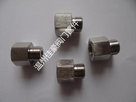 佳豪牌1/2NPT(F)-M20*1.5(M) 不锈钢内外丝螺纹压力表转换接头