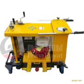 汽油井盖切割器 手推式圆形井盖切割机 路面切圆机