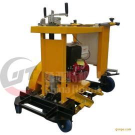 1.5米圆形井盖切割机现货供应 手推式窨井盖圆周切割机