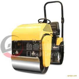全液压座驾式振动压路机 1吨小型压路机柴油 沥青压实机
