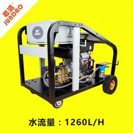 环卫通下水道专用汽油冷水高压疏通机