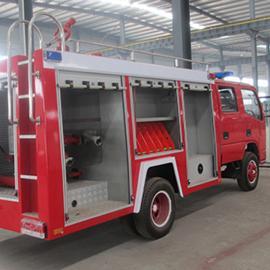 豪沃7吨干粉水联用消防车