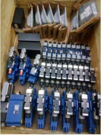 盾构机配件 力士乐电磁阀 4WE6A62/EG24N9K4