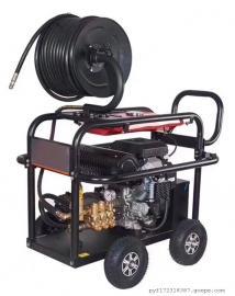 意大利AR高压清洗机 冷热水通用汽油高压小广告 马路 清洗机