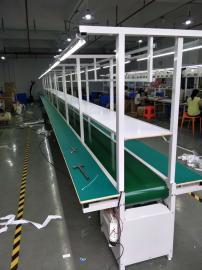 皮带式流水线 传送带防静电生产线 车间工作台装配线组装线