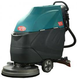 K3电动洗地机商用车间工业拖地机工厂用手推式地面擦地机免维护