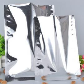 银色大号防静电镀铝袋防潮锡箔纸袋真空防尘袋厂家定制
