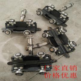 矿用猴车配件 固定式铸造抱索器 锻造抱索器 活动式抱索器