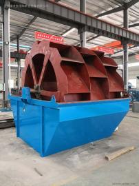 高产量高效率轮斗洗砂机设备洗砂机生产线