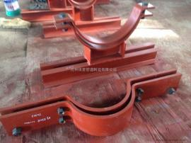 A5基本上型双地脚螺栓管夹 保冷型双地脚螺栓管夹