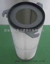 (旭森)供应外三耳PET聚酯纤维除尘滤芯