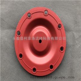 胜百德马拉松气动隔膜泵配件 1/2寸泵膜片286-095-354红胶隔膜片