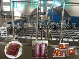 全自动血豆腐生产线-全自动家禽血豆腐生产线