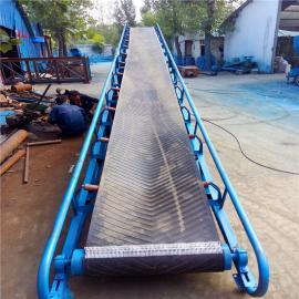 9米长带宽60厘米圆管护栏移动式传送机批量加工