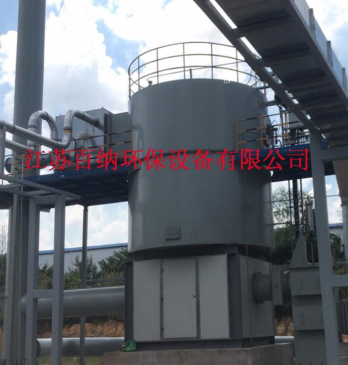 百纳环保 旋转式RTO 汽车配件喷漆废气高效处理装置工程