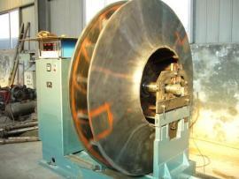 离心风机机壳、叶轮现场检修改造