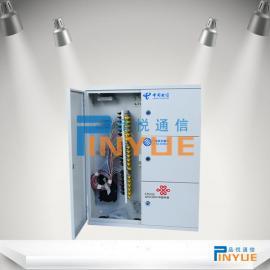 壁挂式96芯三网合一光纤分线箱装配