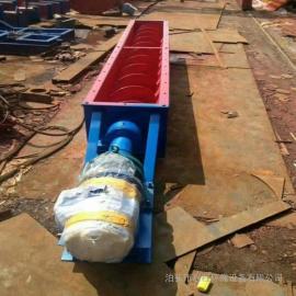 管式螺旋输送设备 绞龙 砂浆输送机 水泥不落地输送设备
