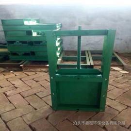 手动插板阀经常与卸料装置或是料仓配套使用启程环保