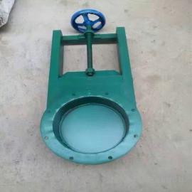 方形圆形插板阀 除尘器专用手动闸板 阀可定做