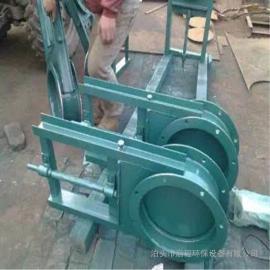 电动硬密封刀型闸板阀电动插板阀 手动污水闸阀