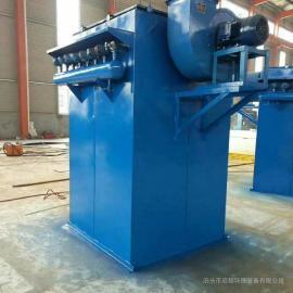 水泥厂专用布袋除尘器 DMC80袋单机布袋除尘器 11KW风机