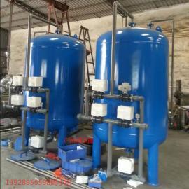 清泽蓝批发井水过滤器除铁锰过滤器解决水发黄效果