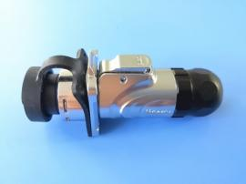 LP-16插头 防水型RJ45网口接头 音响设备接口 舞台灯光接口-创粤