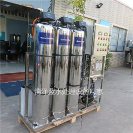 杜绝桶装水的二次污染不锈钢反渗透设备让学生喝上更安全健康水
