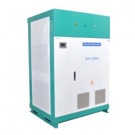 离网太阳能发电系统设计100KW逆变器配套