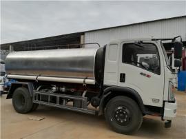 4吨5吨拉水车厂家及说明-5立方抗旱送水车报价(园林绿化浇水车)