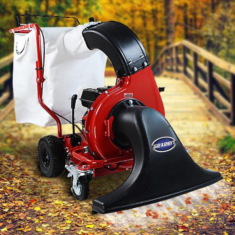 吸树叶机生产厂家,吸叶机品牌,落叶清扫吸尘粉碎设备
