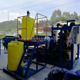 专业洗沙污泥脱水机 脱水量大 处理效果好
