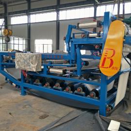石粉洗沙污泥脱水机 带式污泥压滤机供应商中科贝特 脱水率高