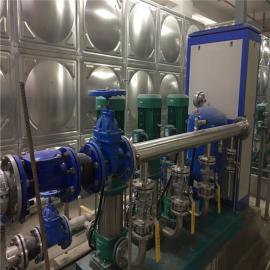 小�^二次供水加�核�泵�M改造�r